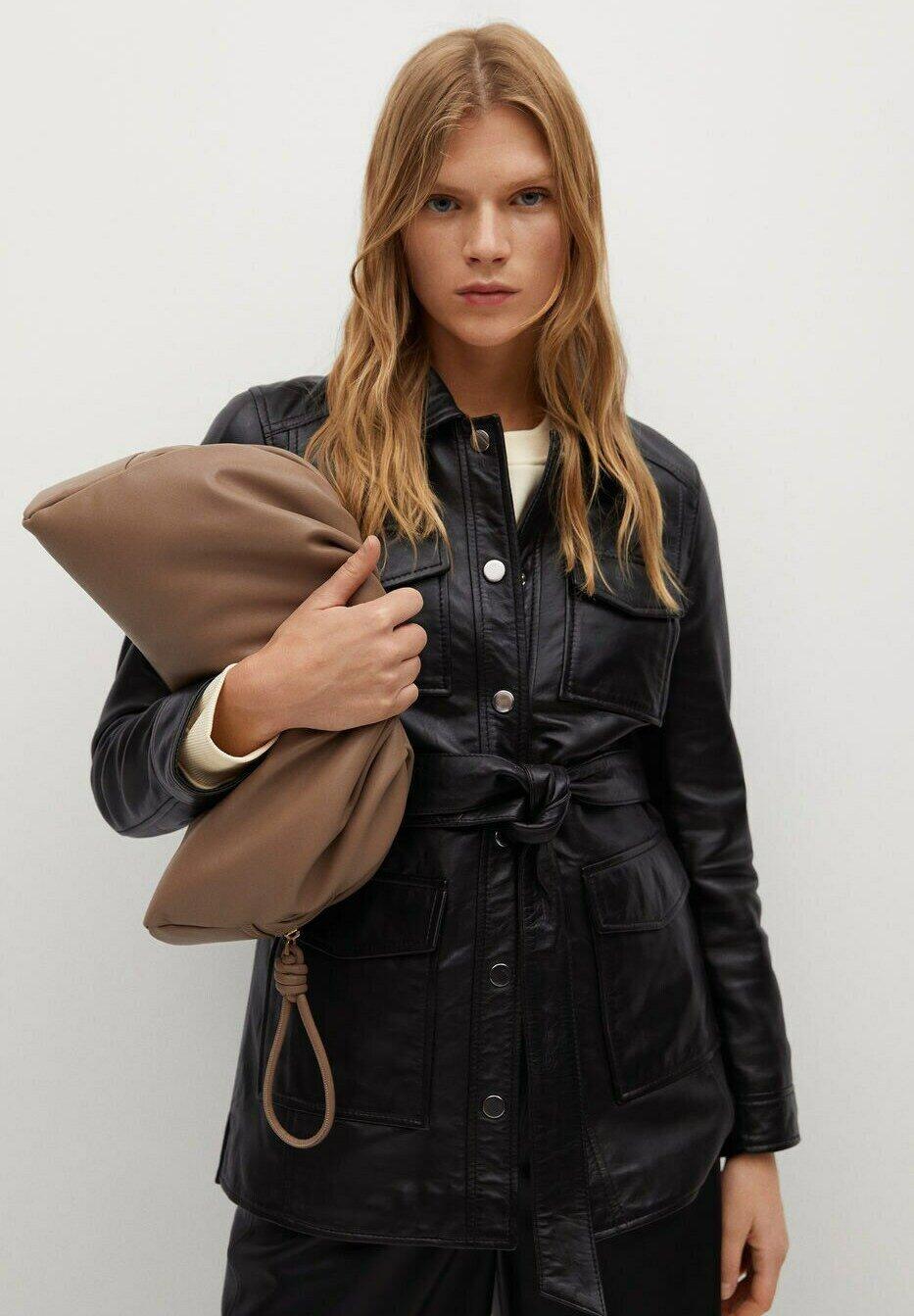 Femme ALPHA-I - Veste en cuir