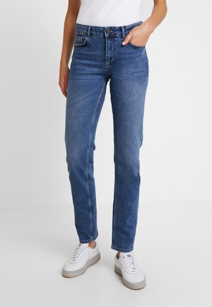 Jeans straight leg - medium blue denim