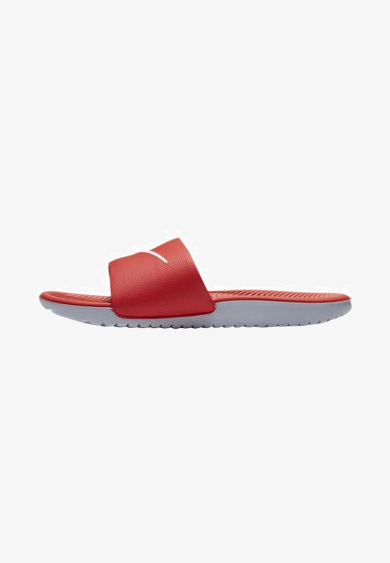Nike Performance - KAWA SLIDE UNISEX - Pool slides - university red/white