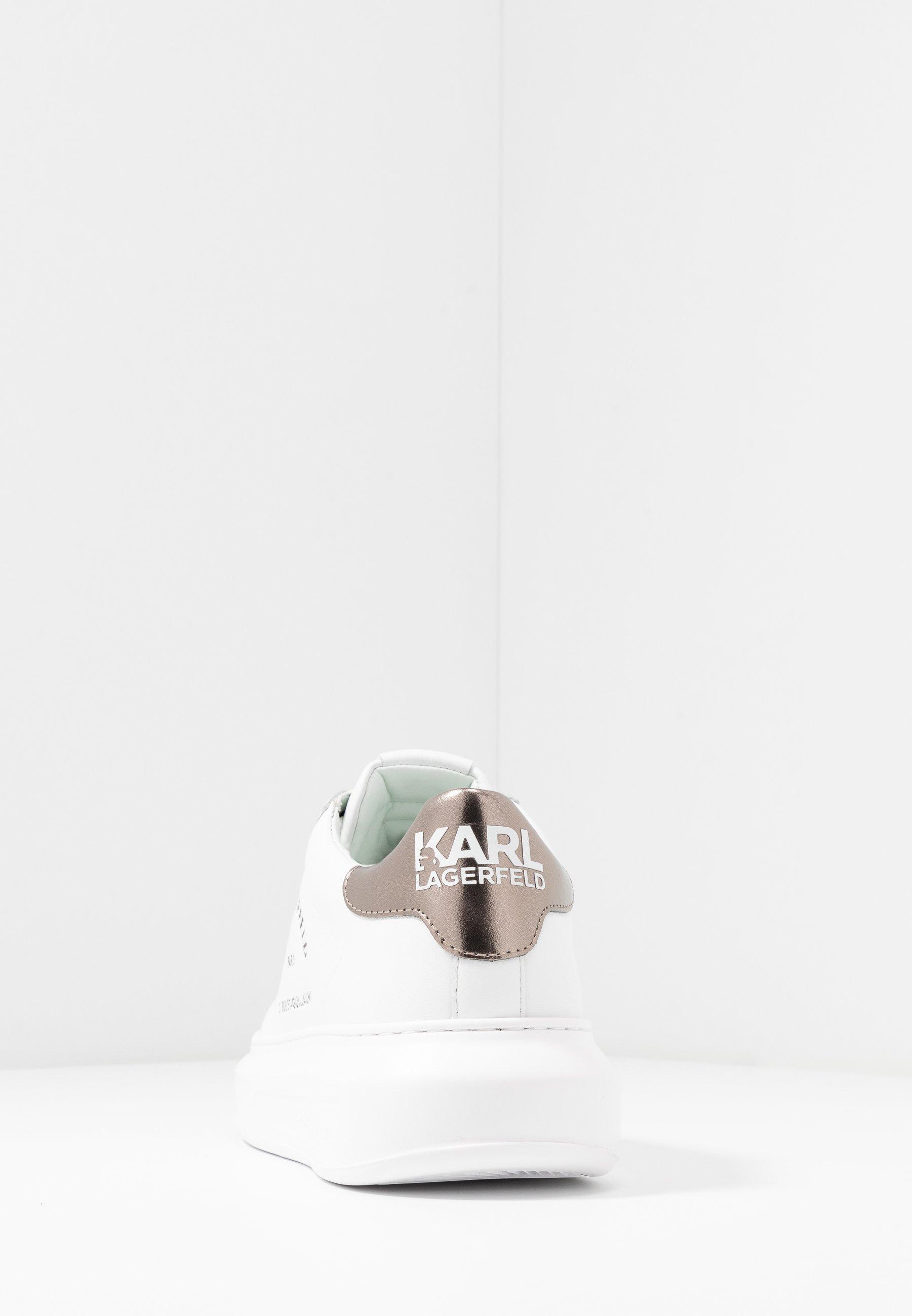 Karl Lagerfeld Kapri Maison Lace - Sneaker Low White/silver/weiß
