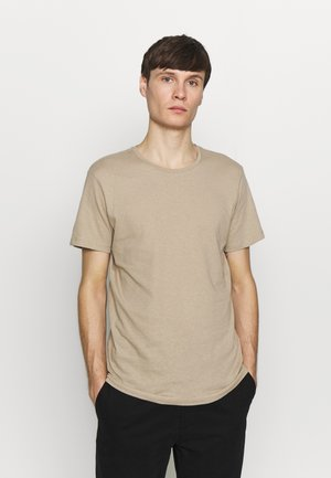 JJELINEN BASIC TEE SS CREW NECK STS - T-shirts - crockery