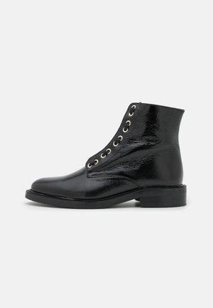 DOLCE - Šněrovací kotníkové boty - noir