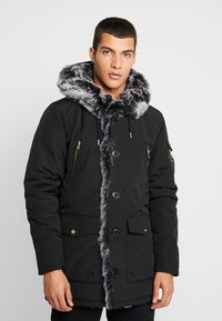 Glorious Gangsta - PARKLEA - Winter coat - black - 0