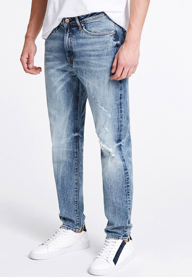 Jeansy Relaxed Fit - himmelblau