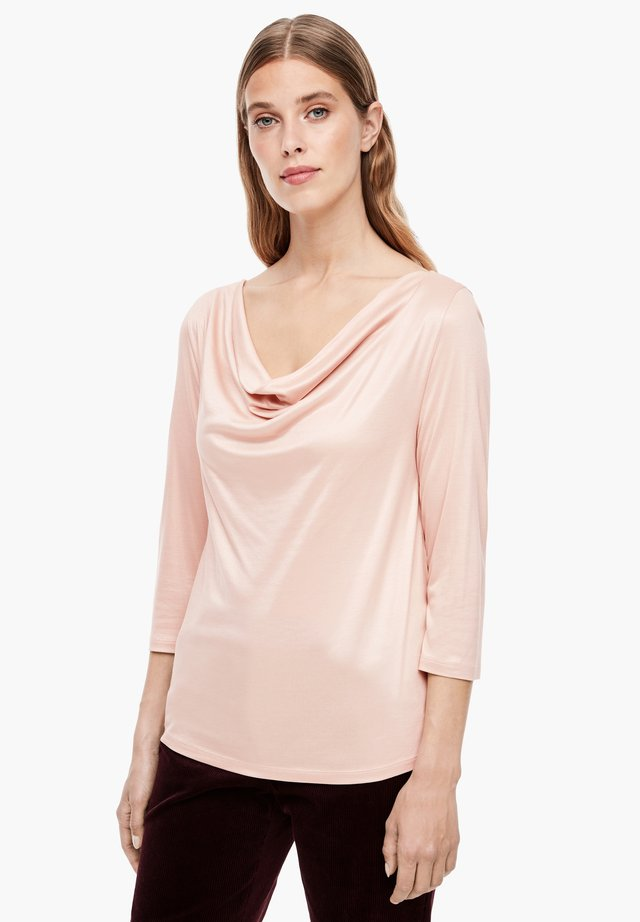 Long sleeved top - dusty rose