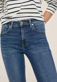 Mango - ISA - Jeans Skinny Fit - dark blue - 5