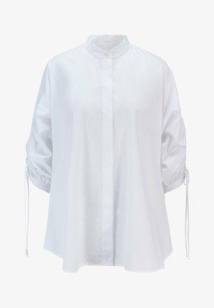 BENIMA - Button-down blouse - white