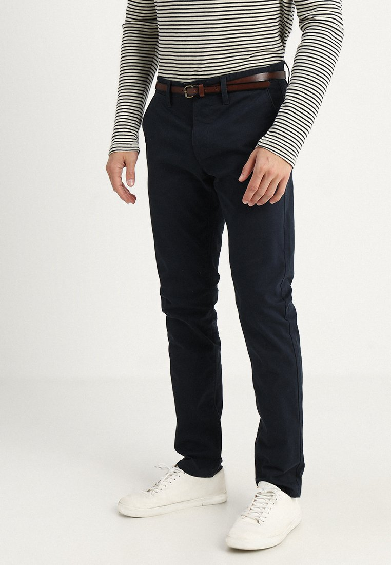TOM TAILOR - ESSENTIAL SOLID - Broek - outer space blue