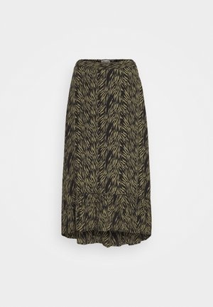 CALIE MOROCCO SKIRT - Gonna a campana - sage