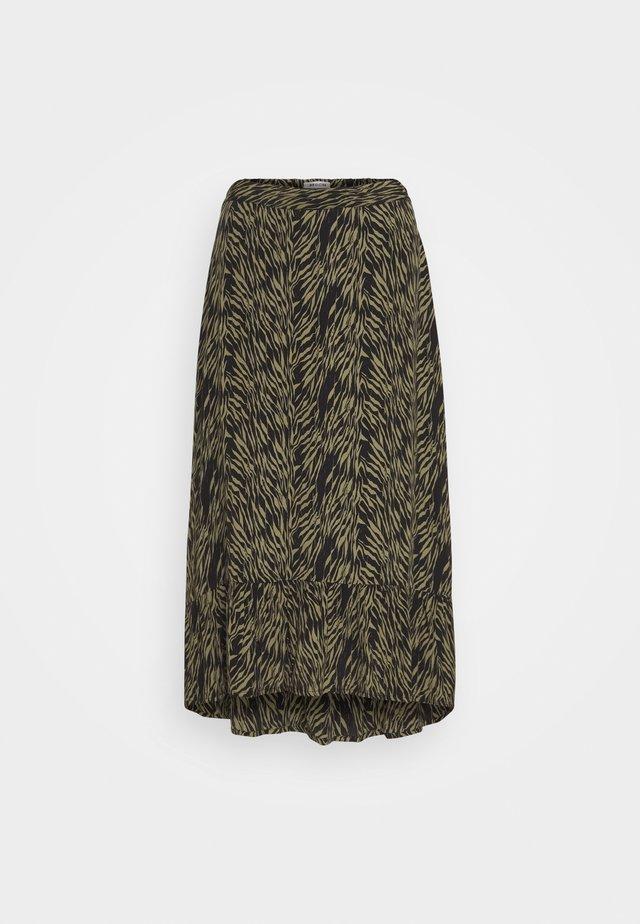 CALIE MOROCCO SKIRT - A-line skirt - sage