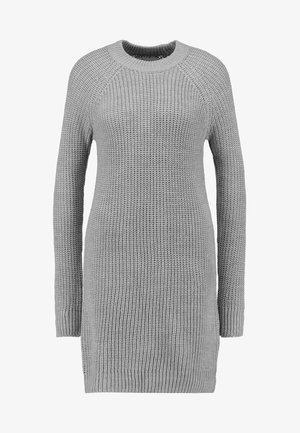 Jumper dress - mottled grey