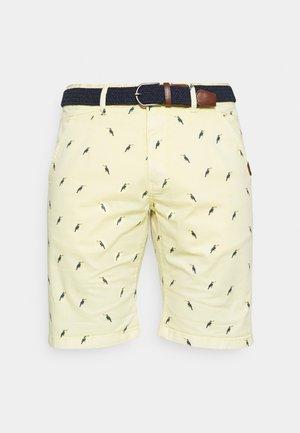 ASHFIELD - Shorts - pale banana