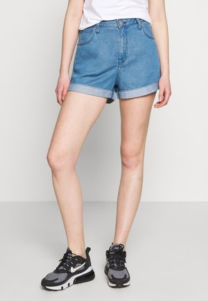 RELAXED SHORT - Szorty jeansowe - light stockton