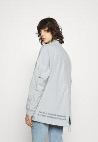 Ecoalf - KELP REVERSIBLE JACKET WOMAN - Short coat - navy - 2