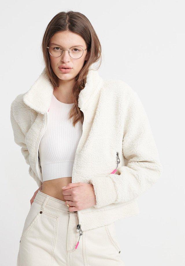 ORANGE LABEL - Fleece jacket - cream