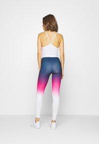 SIKSILK - FADE TAPE - Leggings - Trousers - navy/pink/white - 2