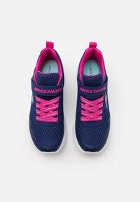 Skechers - DYNAMIGHT - Tenisky - navy/hot pink - 3