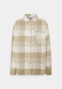 Weekday - BESS - Button-down blouse - beige - 5
