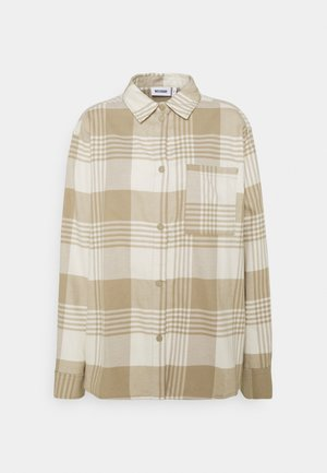 BESS - Button-down blouse - beige