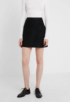BINOLY - A-line skirt - black