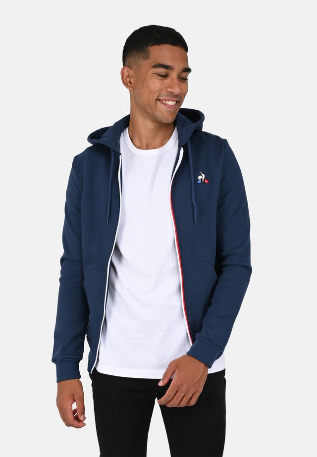 ESS FZ N2 - ZIP-UP-HOODY - veste en sweat zippée - blue