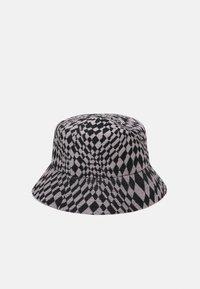 Kangol - WRAPPED CHECK BUCKET - Hat - black/ grey - 1