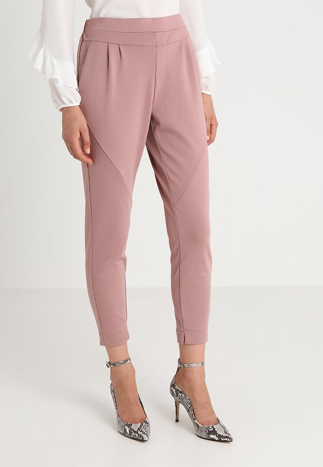 ANETT PANTS - Trousers - old rose