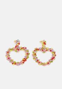 Fire & Glory - LOVERE EARRINGS - Earrings - gold-coloured/multi - 0