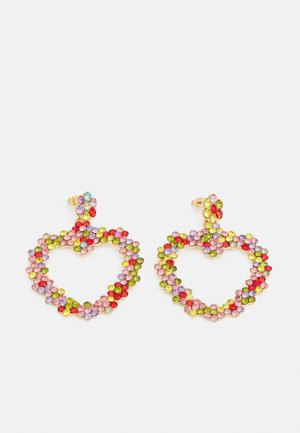 LOVERE EARRINGS - Oorbellen - gold-coloured/multi