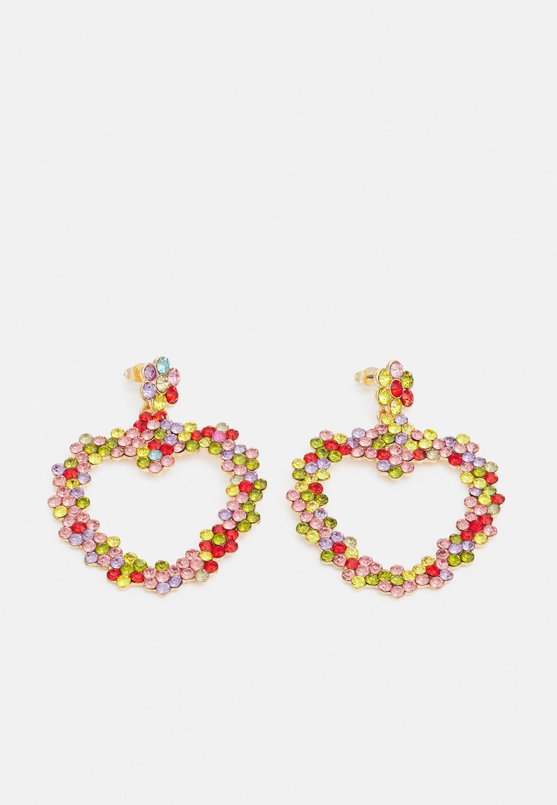 Fire & Glory - LOVERE EARRINGS - Earrings - gold-coloured/multi