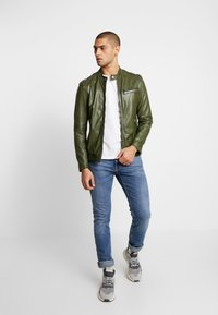 Freaky Nation - LUCKY JIM - Leather jacket - cypriss - 1