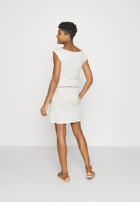 Ragwear - TAG CHEVRON - Žerzejové šaty - off white - 2