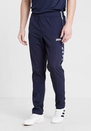 STRIKER - Pantalones deportivos - marine/weiß