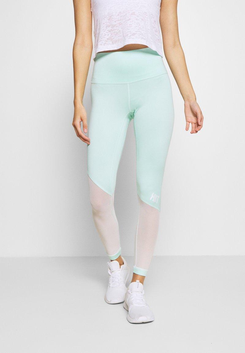 HIIT - BENNETT PANEL - Legging - mint