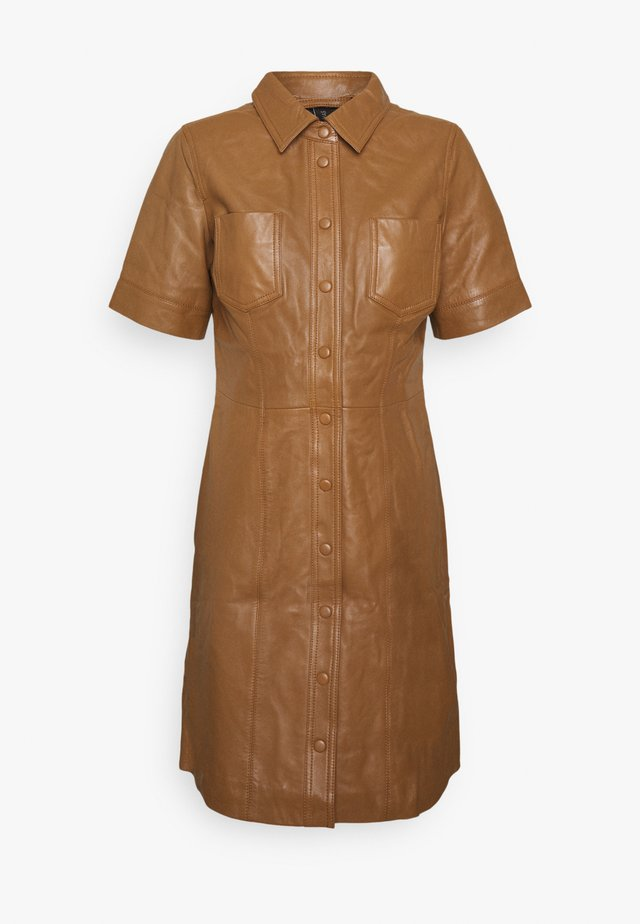 YASLIVANA DRESS - Shirt dress - rubber
