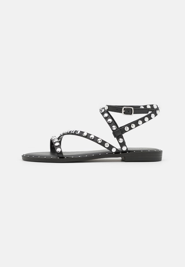 FLIGHT - Sandalen - black