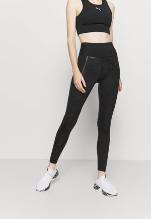 TRAIN HIGH RISE - Leggings - black