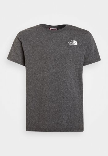 SIMPLE DOME TEE UNISEX - Print T-shirt - medium grey heather