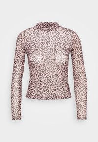 New Look Petite - ANIMAL  - Long sleeved top - pink