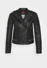 Pepe Jeans - LENNA - Chaqueta de cuero sintético - black - 5