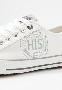H.I.S - Sneakersy niskie - white - 2