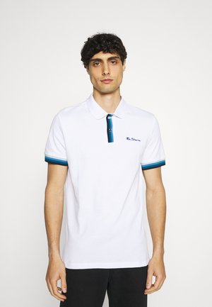 PLACKET INTEREST - Poloshirt - white