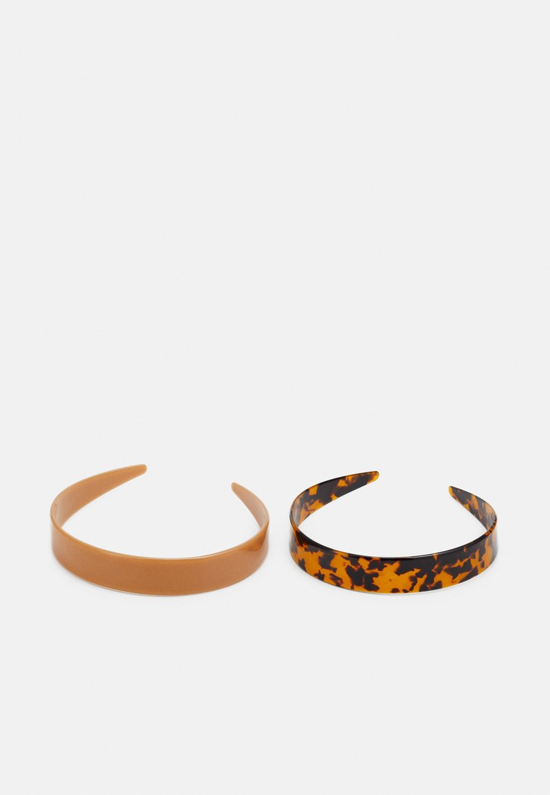 ONLY - ONLLAURA HAIRBAND 2 PACK - Haaraccessoire - nude/black