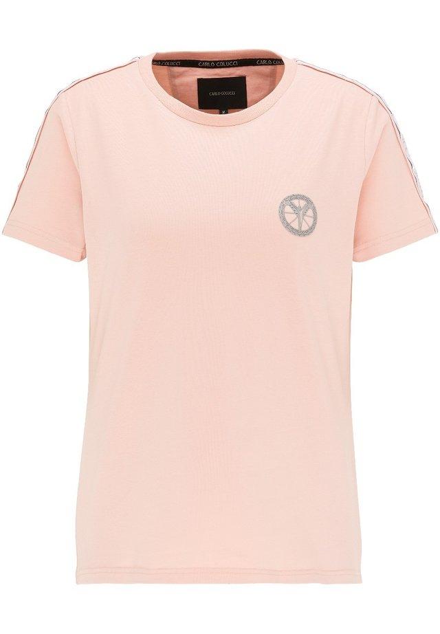 BASIC - T-shirt print - rosé