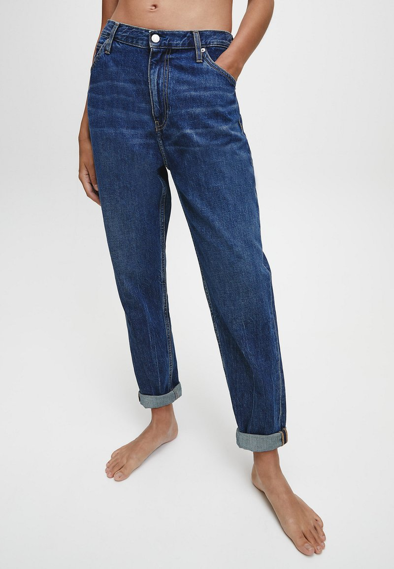 Calvin Klein Jeans - Relaxed fit jeans - dark blue utility