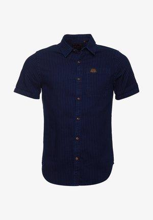 Shirt - ticking stripe rinsed