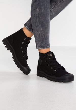 PAMPA  - Lace-up ankle boots - black