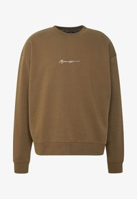 ESSENTIAL SIGNATURE BOXY - Sweater - khaki