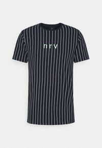 Nerve - SAMIR STRIPE TEE - Print T-shirt - navy - 0