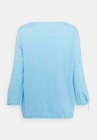 TOM TAILOR - VERTICAL STRIPE - Blouse - blue/white - 1
